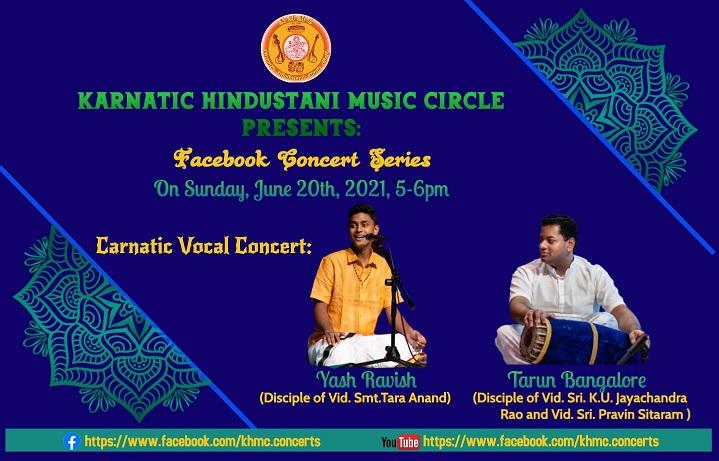 KHMC Concert - Yash Ravish And Tarun Bangalore