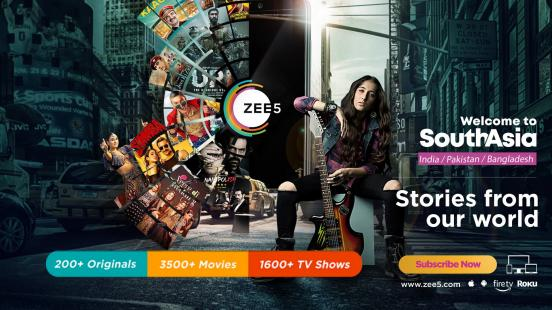 ZEE5 Launches In The U.S.<br>Ushers In A New Era Of South Asian Entertainment