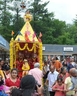 Sree Vijaya Kali Ashram Conducts Sri Jagannath Rath Yatra