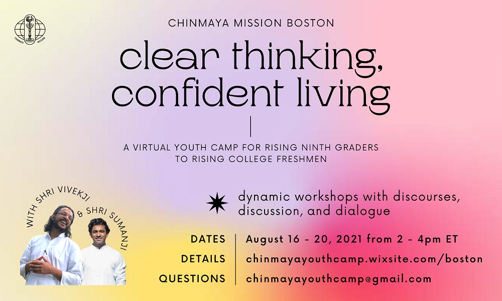 Clear Thinking, Confident Living - A Virtual Youth Camp