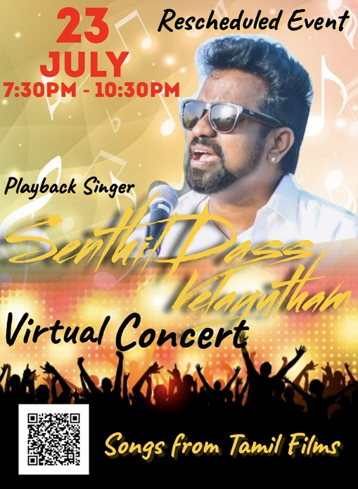 Indian Filmi Music Concert By Senthil Dass