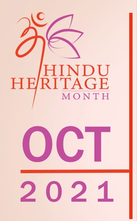First-time Ever, Celebration Of October 2021 As Hindu Heritage Month