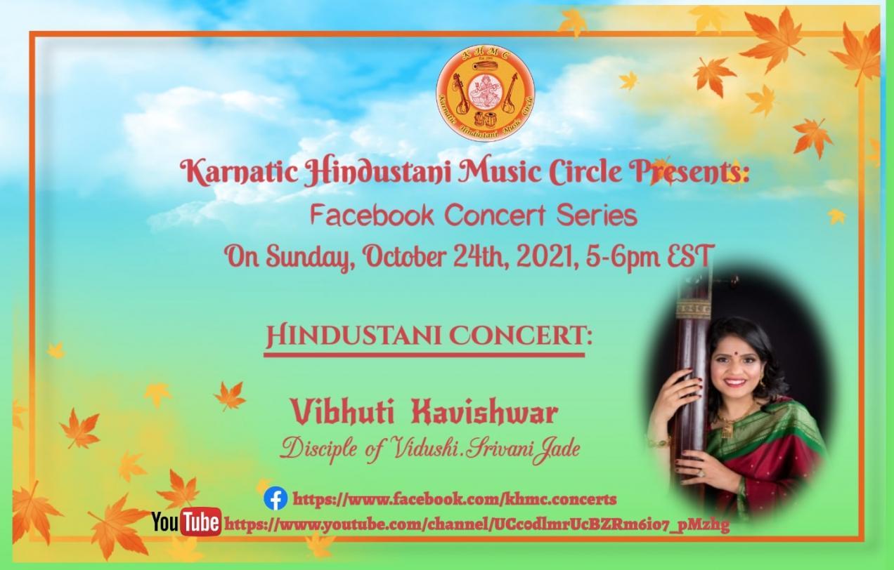 KHMC Concert - Vibhuti Kavishwar