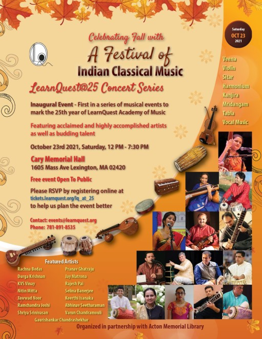 LearnQuest Academy Of Music Concert Series 2021