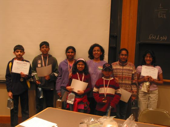North-South Spelling, Vocabulary and Math Bee