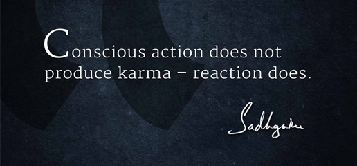 Image result for isha foundation sadhguru karma