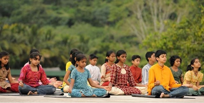Children Learn Kriya