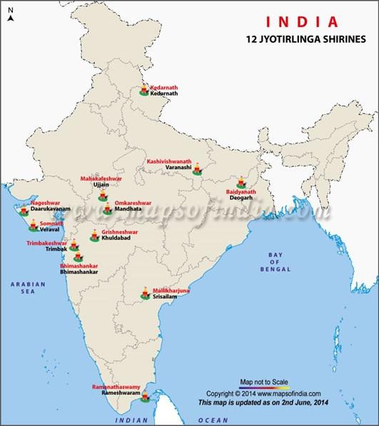 Image result for 12 jyotirlingas
