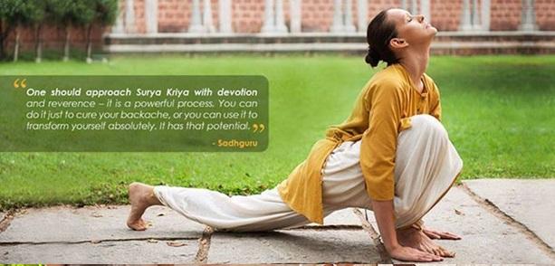 Image result for isha surya kriya