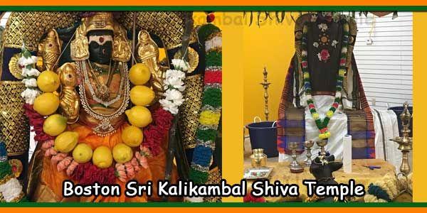 Goddess Kalikambal Blesses Boston in New Temple