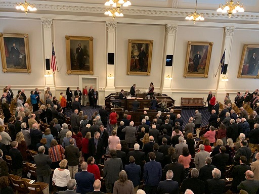A Prayer for Bliss in the New Hampshire House of Representatives