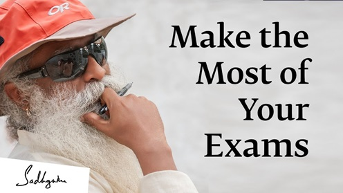 Image result for youtube 5 Tips from sadhguru to Deal with Exam Fear